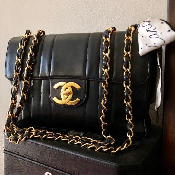 6c6484ccba55 CHANEL Bags | 24k Ghw Lambskin Mademoiselle Jumbo Flap | Poshmark